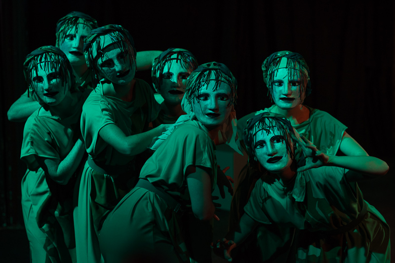 The Bacchae Claira Watson Parr Actor Greek Classic play theatre