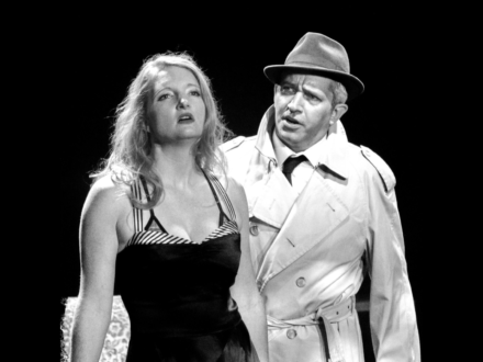 Claira Watson Parr in Noir Man by Ken Levine
